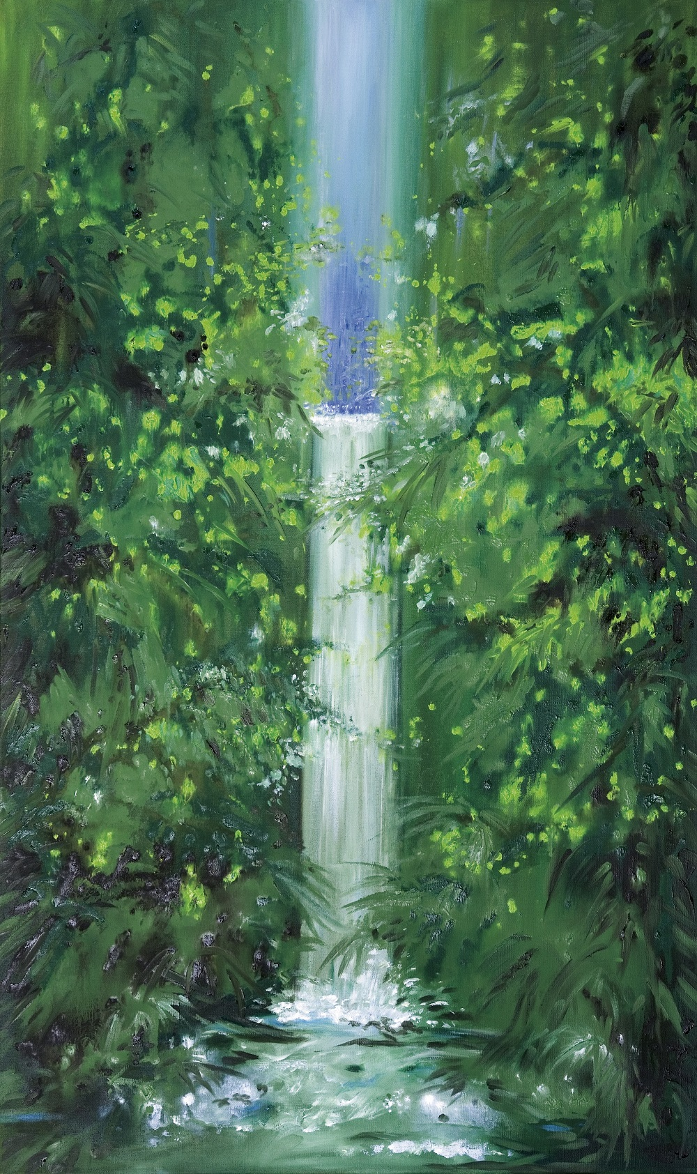 2007, Öl auf LWd., 60 x 100 cm
