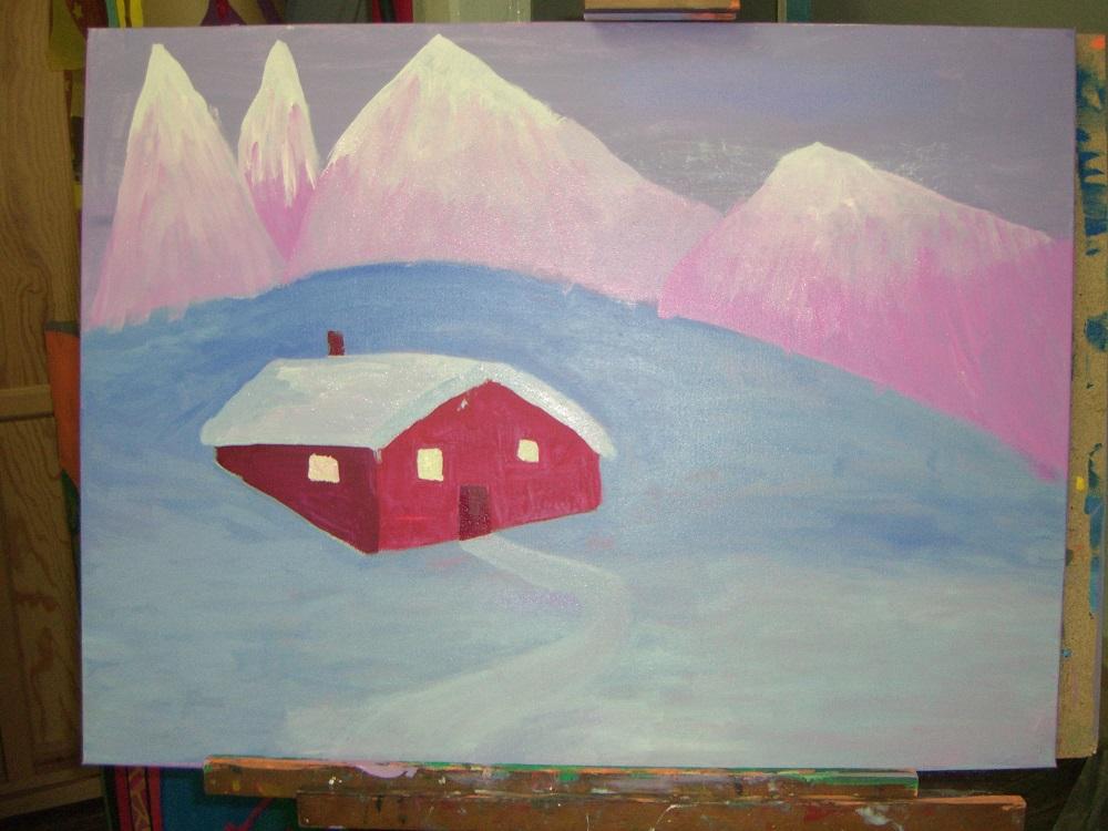 Jugendkunstschule Aquarellmalerei