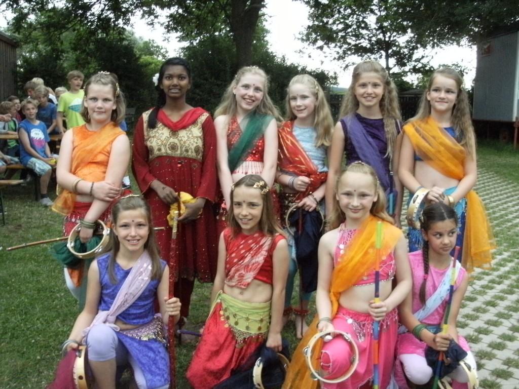 Bauchtanz, Bollywood- und Modern Dance