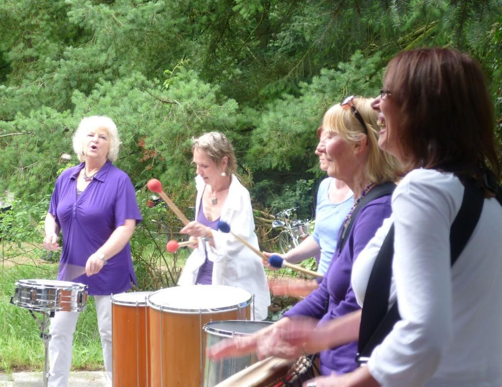 Violett Drums in Action